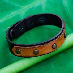 Novica Handcrafted 'Exotic Rustic' Bracelet