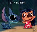 """Aloha! Voici le 42eme long-métrage animé classique des studios Disney : Lilo et Stitch ! ^^ Plus que 5 Classiques à """"chibiser"""" pour complèter la collection des 50 Chibis Disney avant la fin de l'année!! Aloha! Here's the 42th Classic Disney animated-feature : Lilo and Stitch ! ^^ Only 5 Classics left to """"chibify"""" to complete the 50 Disney Chibis Collection until the end of the year!! Thanks! ^^ Be a fan on my Facebook page : [link] and my Blog : [link]"""