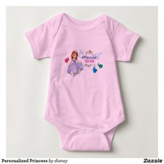 Personalized Princess T Shirt #camisetas #tshirt