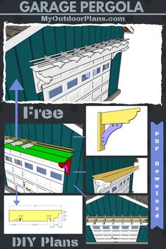 plans how to build pergola plans Garage Pergola Plans This i. pergola plans Garage Pergola Plans This is a super simple garage pergola that you can build in one weekend with basic materials and tools. The project comes with a full cut list and a complet Gazebo, Vinyl Pergola, Garage Pergola, Building A Pergola, Deck With Pergola, Cheap Pergola, Covered Pergola, Backyard Pergola, Pergola Shade