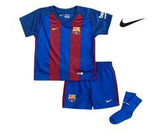 Equipación del Fútbol Club Barcelona Nike para bebés y niños pequeños.  Antes 60 dd22c92f80810