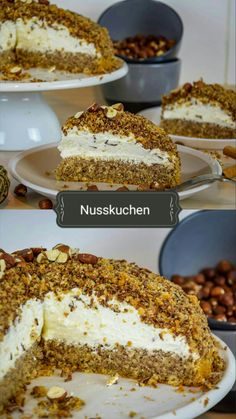 German Baking, Funny Cake, Party Buffet, Easy Baking Recipes, Dessert Recipes, Desserts, Cakes And More, No Bake Cake, Food Inspiration