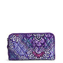 Accordion Wallet in Lilac Tapestry   Vera Bradley