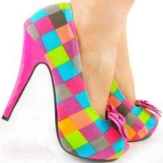 funky heels