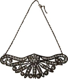 One Kings Lane - The Family Jewels - Victorian Dress Embellishment Necklace