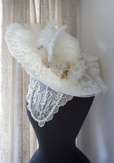 Enchanting Dress Forms & Mannequin ... ♥ hat,very victorian,would be great for Dickens on the Strand in Galveston