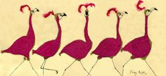 Flamingos Anna Wright