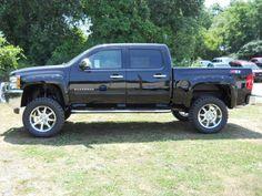 2012 Chevy Silverado 1500 Rocky Ridge Lifted Truck.