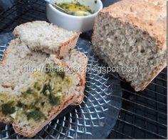 Cozinha sem glúten e sem leite: Pão de Chia!