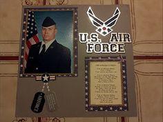 USAF Scrapbook Page