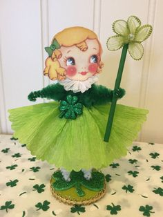 A personal favorite from my Etsy shop https://www.etsy.com/listing/503621892/vintage-style-st-patricks-bump-chenille