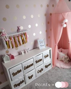 27 Pretty Kids Room Ideas That Are Beyond Chic You are in the right place about pretty girl swag Here we offer you the most beautiful pictures about the pretty girls with braces you are looking for. When you examine the 27 Pretty Kids Room[. Daughters Room, Toy Rooms, Kids Room Design, Nursery Design, Baby Design, Little Girl Rooms, Little Girl Closet, Baby Room Decor, Ikea Baby Room