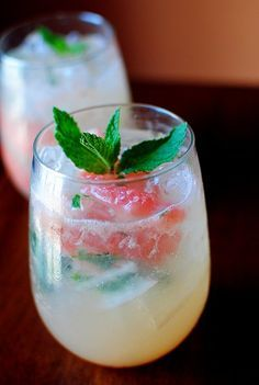 Grapefruit Mojito... Two of my favorite things together