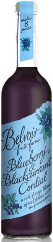 Belvoir – kékáfonya-feketeribizli szörp 500ml