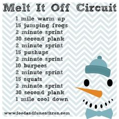 Cardio and Strength Circuit to help you melt it off!