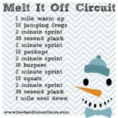 Melt It Off Circuit via foodandfunontherun.com