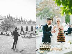 Spencer Smith Beverly Hills Wedding in Green Wedding Shoes || Revelry Event Design
