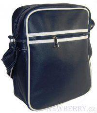 Crossbody sportovní taška C-838 tmavě modrá unisex