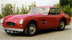 Allard Gran Turismo, produite de 1957 à 1960. 1 motorisation (3,4 litres de 210…