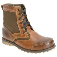 Barbour Corin Leather and Canvas Boots
