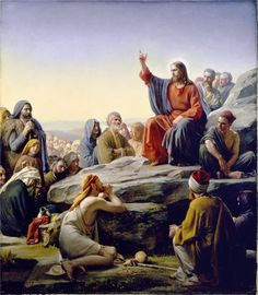 View prints, canvases, etc. of Sermon On The Mount by Carl Bloch.