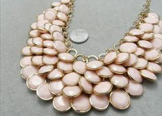 bubble statement necklace Summer Jewelry