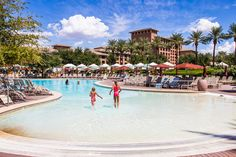Looking for a kid-friendly Resort & Spa in Scottsdale AZ? The Westin Kierland Resort & Spa not only has 3 golf courses, but an awesome water park! Us Family Vacations, Kid Friendly Resorts, Park Resorts, Resort Spa, Golf Courses, Dolores Park, Spaces, Nice, Water