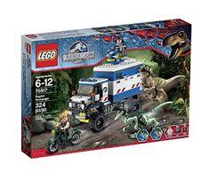 LEGO Jurassic World Raptor Rampage 75917 Building Kit