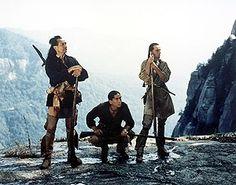 Chingachgook, Uncas, and Hawkeye