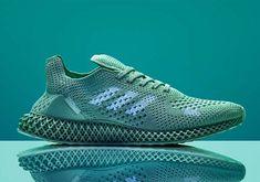 "f4b951a695e adidas Futurecraft 4D ""Arsham Future"" With UV Details Knit Shoes"