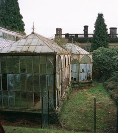Antique greenhouses
