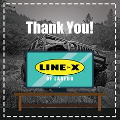 Thank you to everyone who participated in the LINE-X® of Laredo giveaway. Remember the coupon is still valid for the 25% off until October 16. Come by and enjoy the savings at our 1601 Jacaman RD (rear building) location.  #linex #linexoflaredo #ProtectYourInvestments