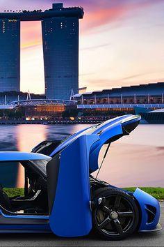 Koenigsegg in Singapore
