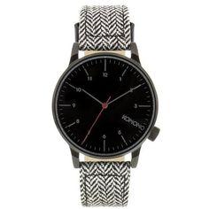Komono Winston Heritage KOM-W2100, černá, 2090 Kč | Slevy hodinek