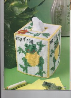 FROG TISSUE COVER 2