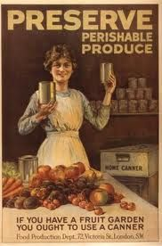 Mother's Kitchen: Vintage Poster Sunday: Preserve Perishable Produce