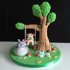 Image result for studio ghibli cake