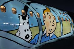 Brussels Airlines new TinTin plane
