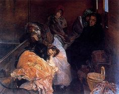 Trafficking in human beings - Joaquín Sorolla - Completion Date: 1894