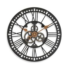 Roman Gear Clock Bed Bath and Beyond