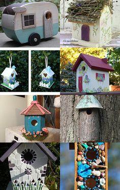 Bonny Bird Boxes by Tina Baxter on Etsy