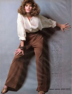 US Vogue January 1984 What Looks Great Now, The New Minimal Dressing Photo Bill King