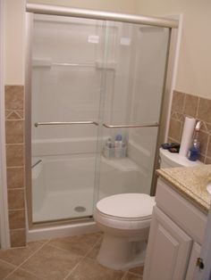 Is It Worth It To Replace The Door On A Prefab Fiberglass Shower Stall? Hmmm