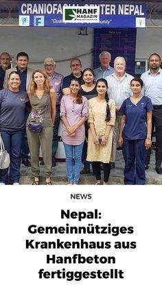 Das Unternehmen SHIV hat in Nepal ein Gebäude aus Hanfbeton gebaut, das zukünftig als spezialisiertes Zentrum für kraniofaziale Chirurgie und Wiederherstellung dienen soll. Die Einrichtung ist die erste ihrer Art im gesamten Land. Nepal, Surgery, Hemp, Centre, Business