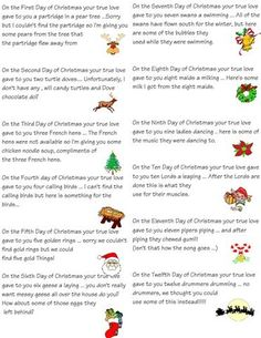 Easy 12 Days of Christmas Idea + Printables