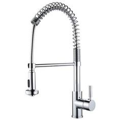 Cardini Commercial Style Pre-Rinse Kitchen Faucet