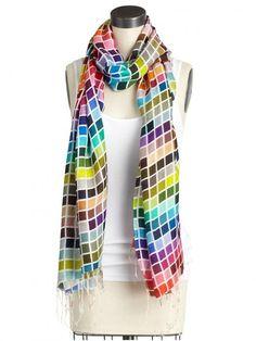 pantone scarf (: