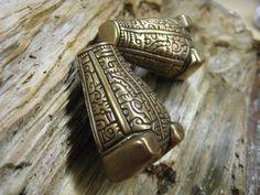 bear or boar headed brooch viking era set of 2 by torfin on Etsy, $80.00