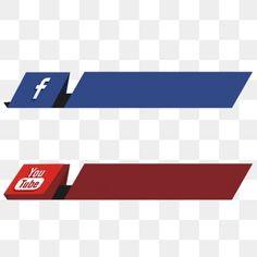 Social Media Buttons, Social Media Banner, Social Media Icons, Banner Template Photoshop, Youtube Banner Template, Youtube Logo, Social Png, Youtube Banner Backgrounds, Logo Facebook