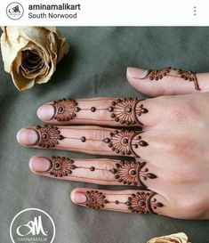 Henna Hand Designs, Dulhan Mehndi Designs, Mehndi Designs Finger, Mehndi Designs For Fingers, Stylish Mehndi Designs, Beautiful Mehndi Design, Latest Mehndi Designs, Henna Tattoo Designs, Henna Tattoo Hand